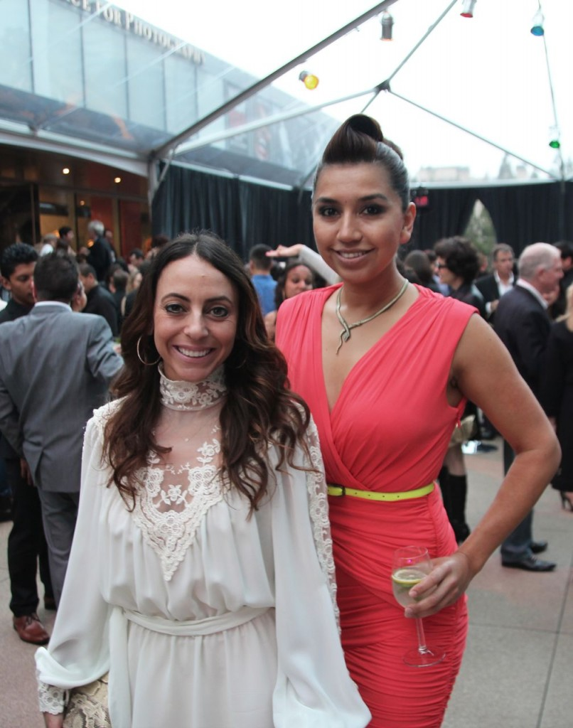 Blanca Edeza (right), Annenberg Foundation, with VIP Guest – Pulp Lab