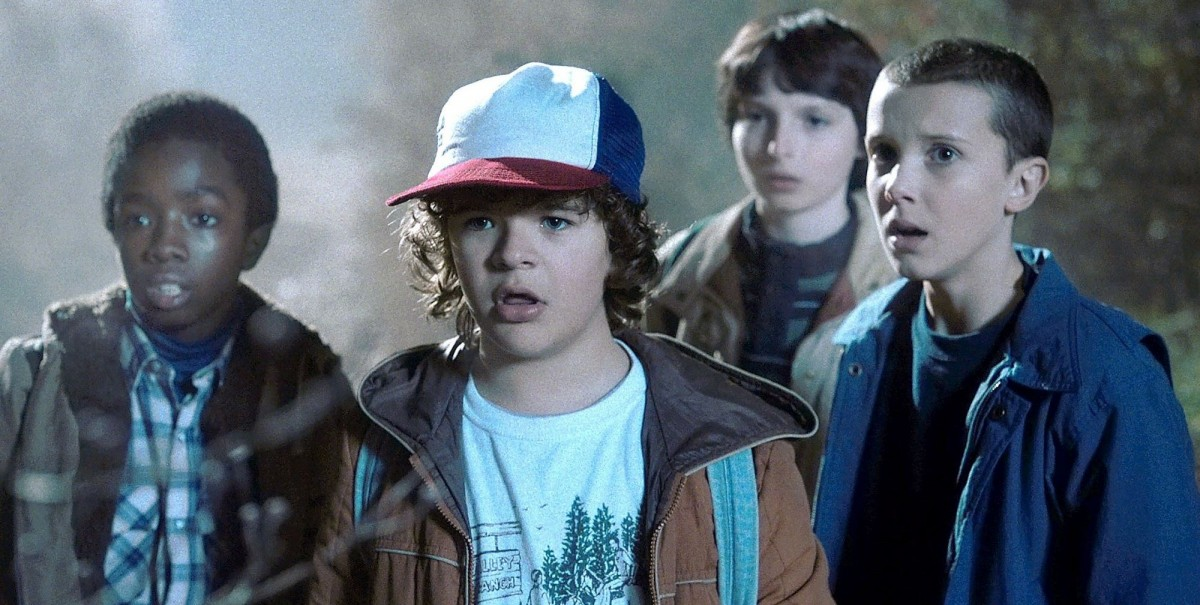 Stranger Things is fantastic '80s nostalgia (Credit: Netflix)