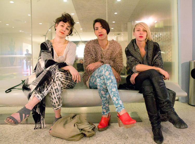 Tova Carlin, Katerina Llanes, and Ania Diakoff - Estée Ochoa