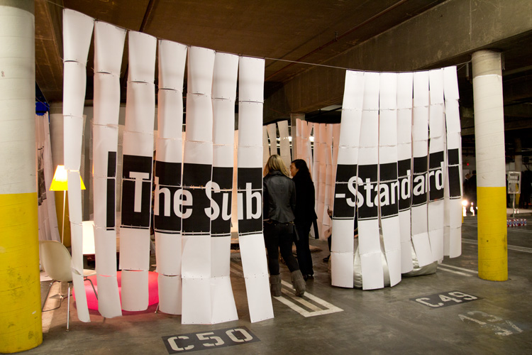 Tova Carlin, Ania Diakoff, and Katerina Llanes' The Sub-Standard - Estée Ochoa